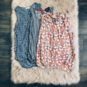 (3) Anthropologie Tunic